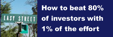 How to Beat 80% of Investors With 1% of the Effort