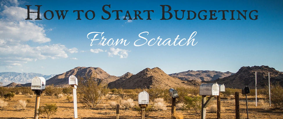 How to Start Budgeting from Scratch thumbnail