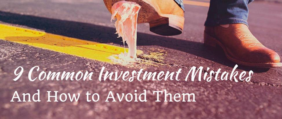 9 Common Investment Mistakes – Thumbnail