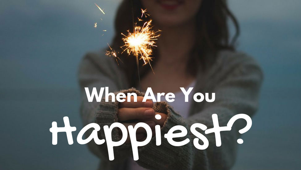 When Are You Happiest?