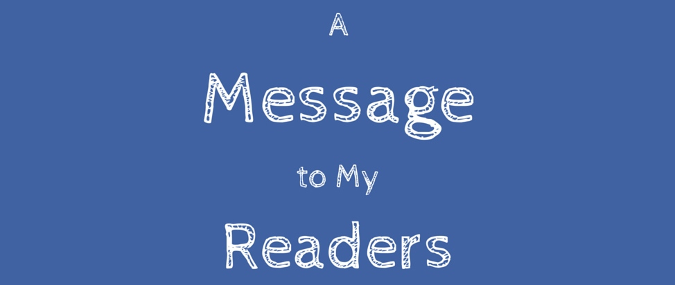 Message to My Readers – Thumbnail