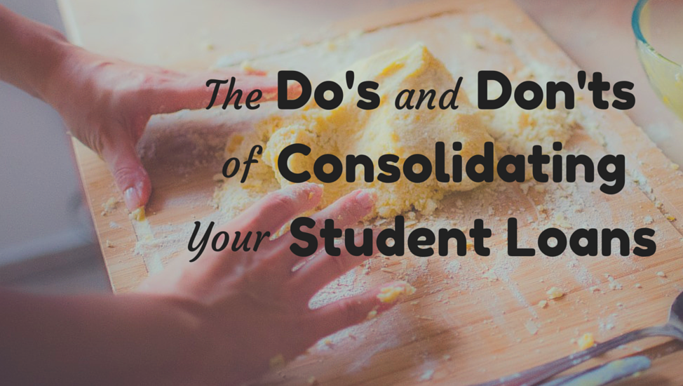 consolidating student loans and mortgages