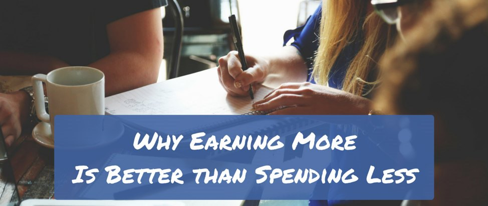 Why Earning More Is Better than Spending Less – Thumbnail