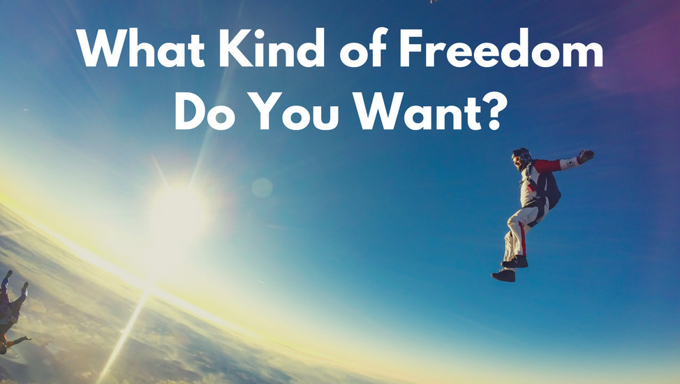 What Kind of Freedom Do You Want