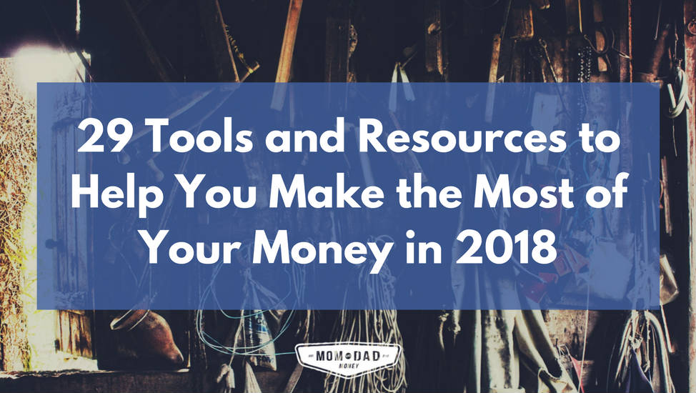 financial tools and resources 2018